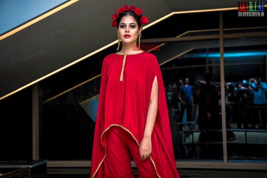 Bindu Madhavi At The  South Indian Fashion Awards 2018 In Chennai