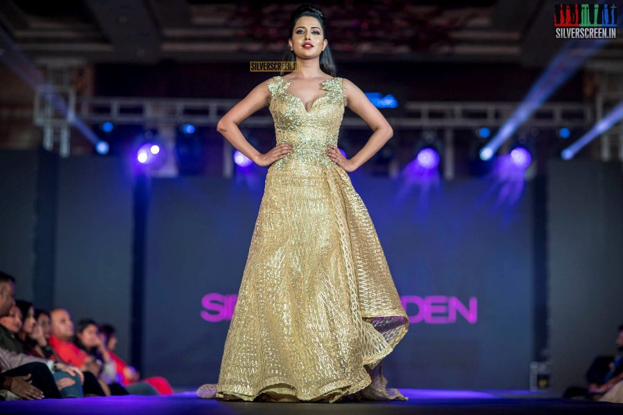 Raiza Wilson At The  South Indian Fashion Awards 2018 In Chennai