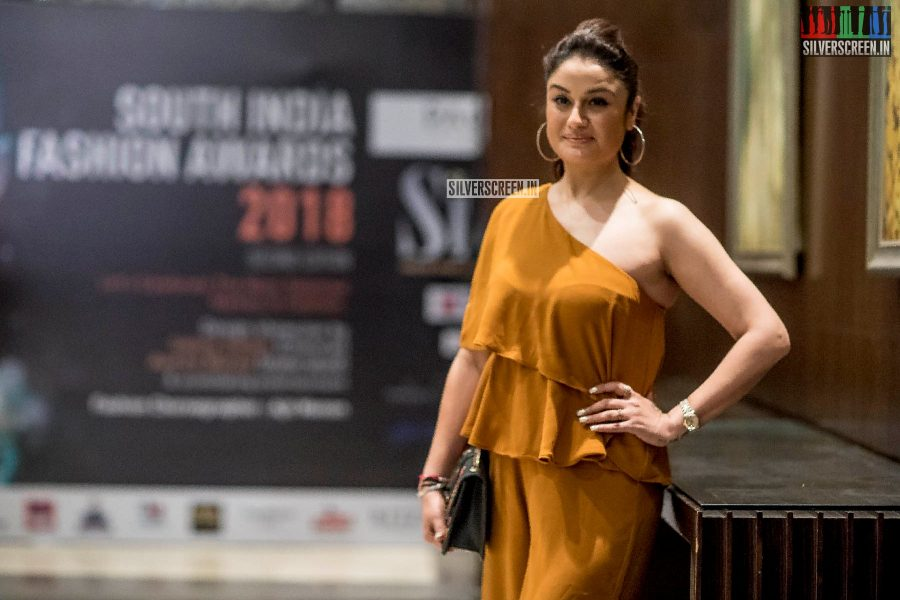 Sonia Agarwal At The  South Indian Fashion Awards 2018 In Chennai