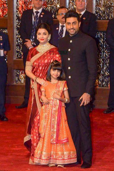 Abhishek Bachchan, Aishwarya Rai At Isha Ambani–Anand Piramal Wedding Ceremony