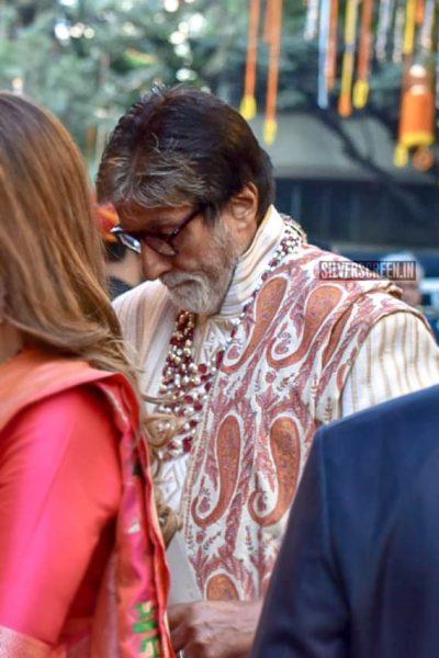 Amitabh Bachchan At Isha Ambani–Anand Piramal Wedding Ceremony