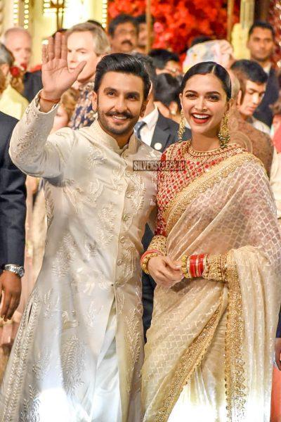 Ranveer Singh, Deepika Padukone At Isha Ambani–Anand Piramal Wedding Ceremony