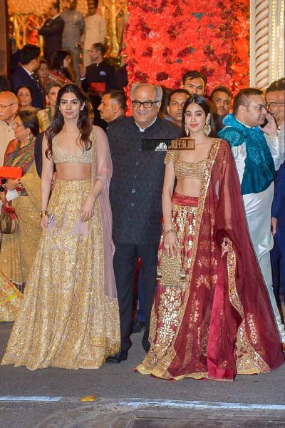 Jhanvi Kapoor At Isha Ambani–Anand Piramal Wedding Ceremony