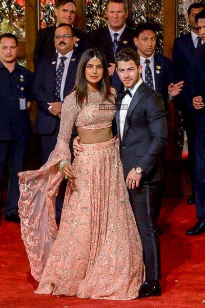 Priyanka Chopra At Isha Ambani–Anand Piramal Wedding Ceremony