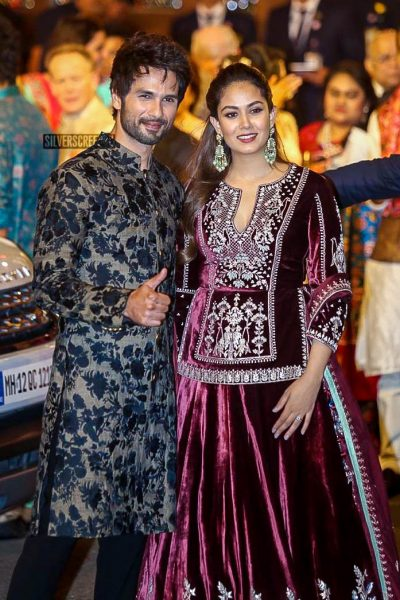 Shahid Kapoor At Isha Ambani–Anand Piramal Wedding Ceremony