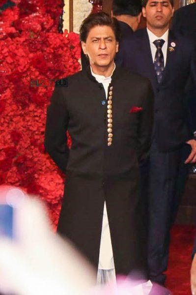 Shah Rukh Khan At Isha Ambani–Anand Piramal Wedding Ceremony