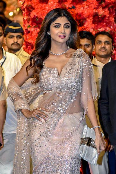 Shilpa Shetty At Isha Ambani–Anand Piramal Wedding Ceremony