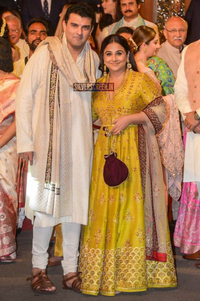 Vidya Balan At Isha Ambani–Anand Piramal Wedding Ceremony