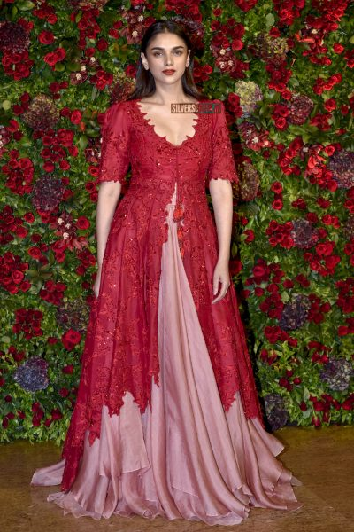 Aditi Rao Hydari At The Ranveer Singh, Deepika Padukone Wedding Reception
