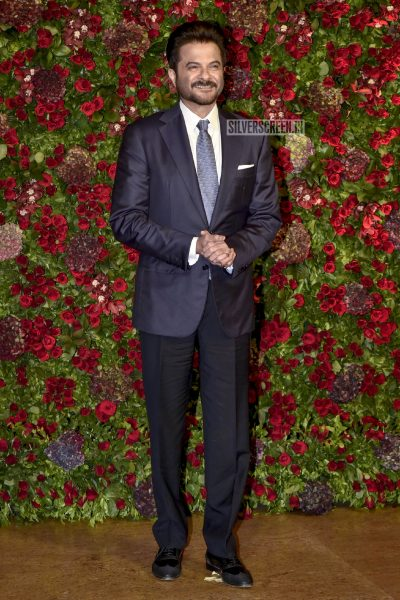 Anil Kapoor At The Ranveer Singh, Deepika Padukone Wedding Reception