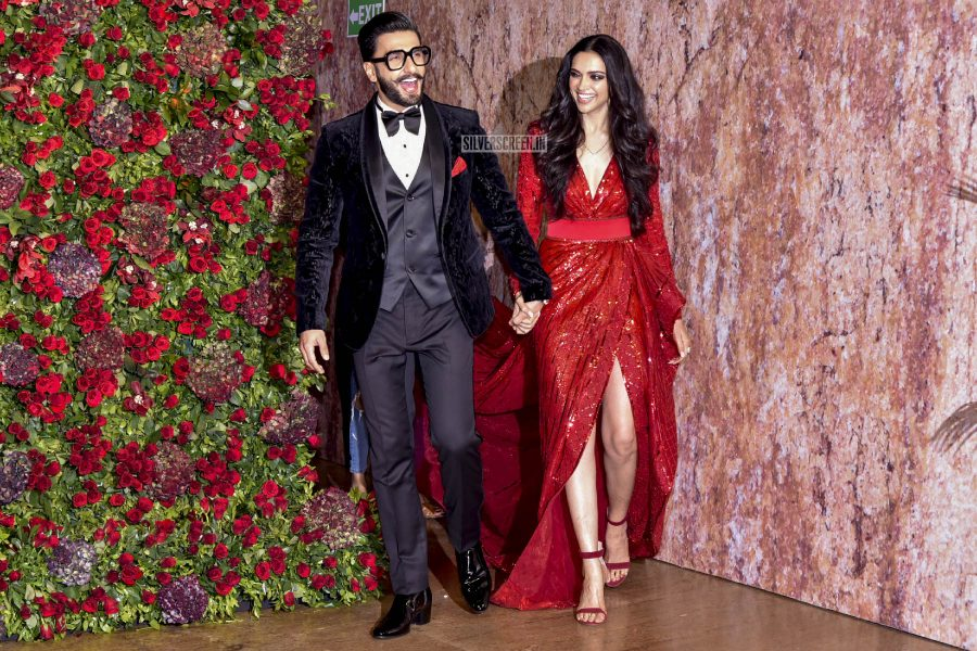 Ranveer Singh, Deepika Padukone Wedding Reception Photos