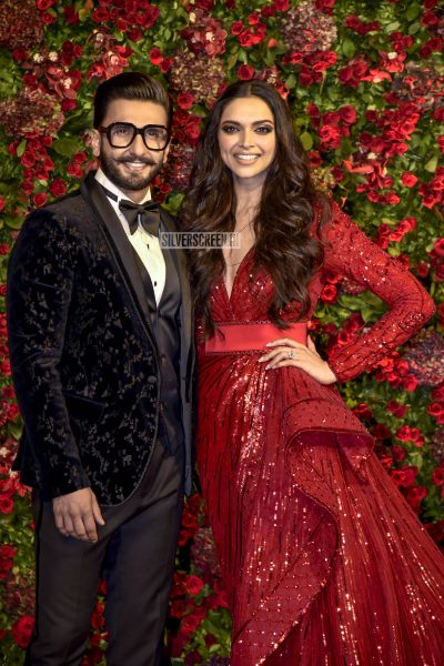Ranveer Singh, Deepika Padukone Wedding Reception Photos