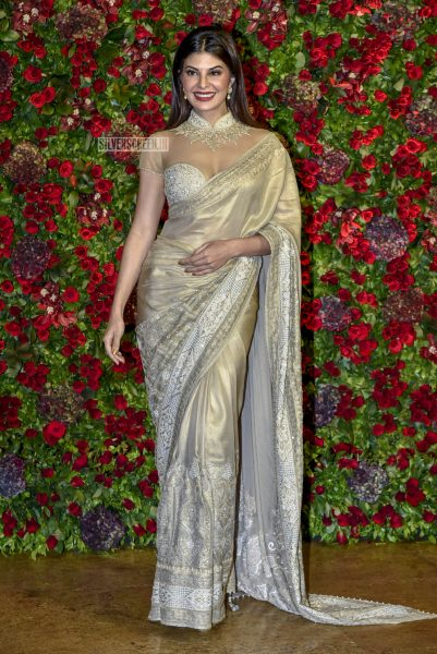 Jacqueline Fernandez At The Ranveer Singh, Deepika Padukone Wedding Reception