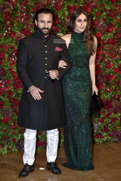 Kareena Kapoor, Saif Ali Khan At The Ranveer Singh, Deepika Padukone Wedding Reception