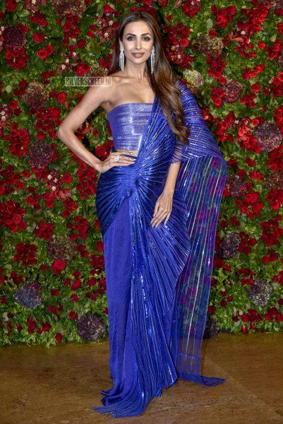 Malaika Arora At The Ranveer Singh, Deepika Padukone Wedding Reception