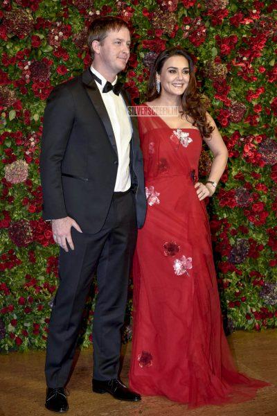 Preity Zinta At The Ranveer Singh, Deepika Padukone Wedding Reception