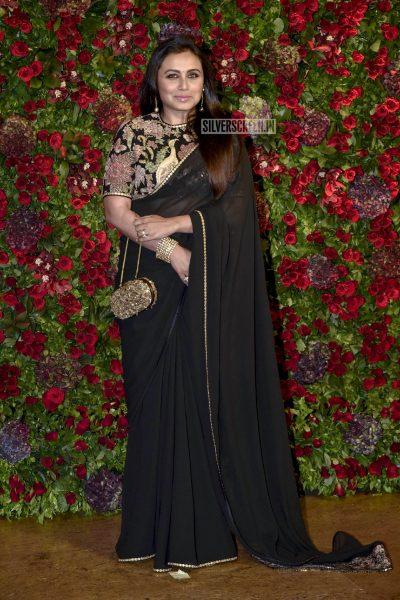 Rani Mukerji At The Ranveer Singh, Deepika Padukone Wedding Reception