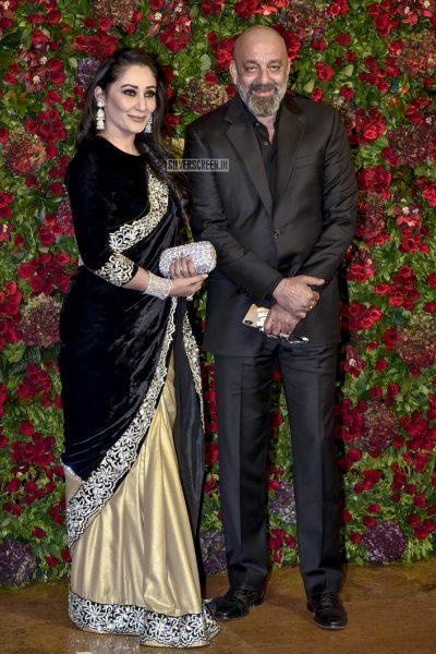 Sanjay Dutt At The Ranveer Singh, Deepika Padukone Wedding Reception