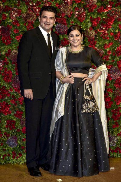 Vidya Balan At The Ranveer Singh, Deepika Padukone Wedding Reception