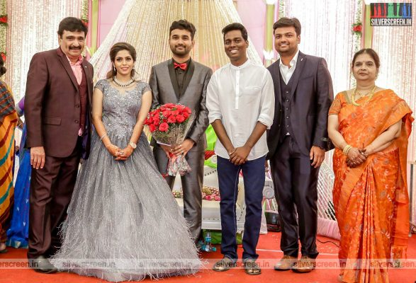 Atlee At The RS Jashwanth Kannan-K Priyanka Wedding Reception