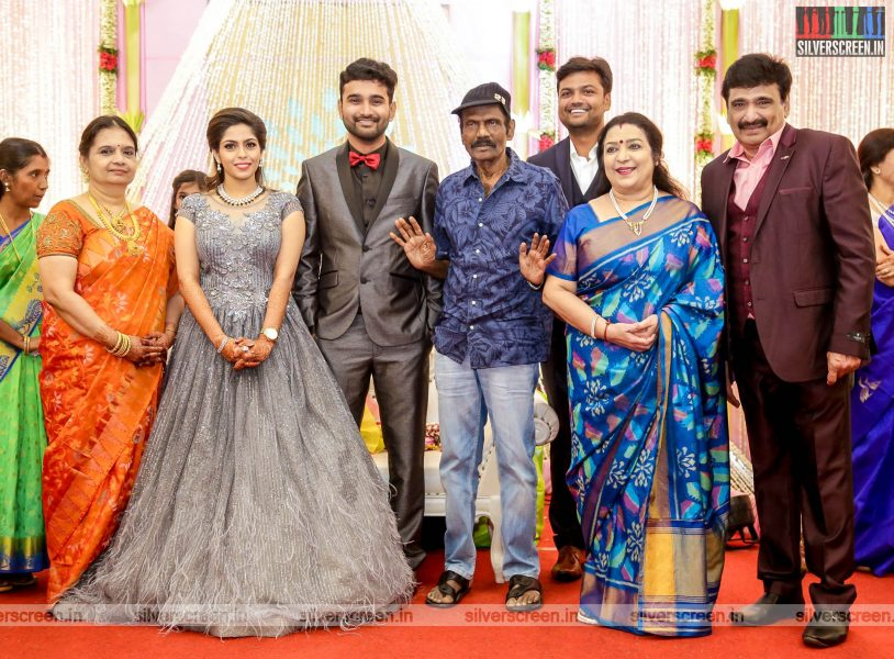 Goundamani At The RS Jashwanth Kannan-K Priyanka Wedding Reception