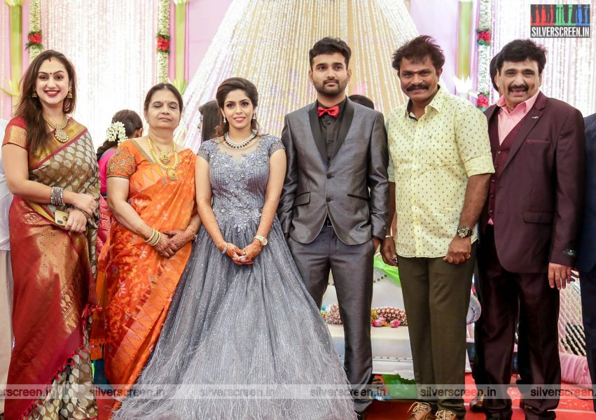 Hari, Preetha  At The RS Jashwanth Kannan-K Priyanka Wedding Reception