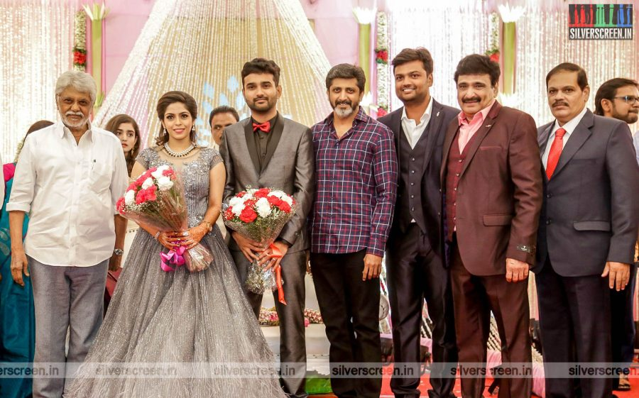 Jayam Raja At The RS Jashwanth Kannan-K Priyanka Wedding Reception