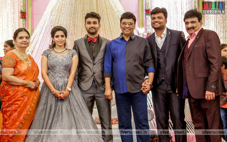 K Bhagyaraj At The RS Jashwanth Kannan-K Priyanka Wedding Reception