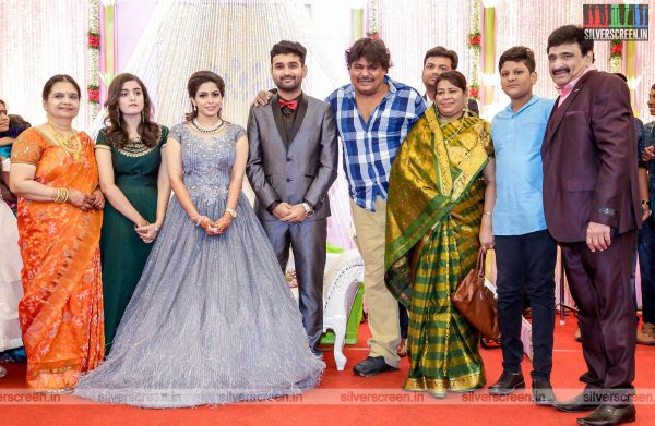 Mansoor Ali Khan At The RS Jashwanth Kannan-K Priyanka Wedding Reception