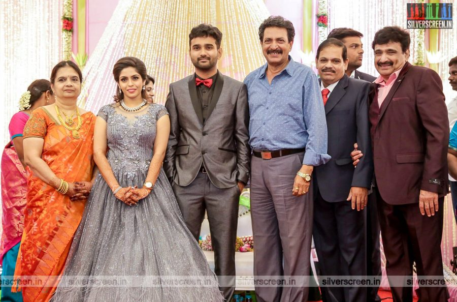 Nizhalgal Ravi At The RS Jashwanth Kannan-K Priyanka Wedding Reception