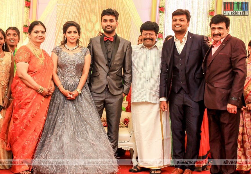 Rajkiran At The RS Jashwanth Kannan-K Priyanka Wedding Reception