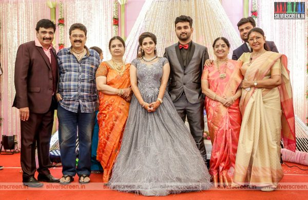 SV Sekhar, Sachu At The RS Jashwanth Kannan-K Priyanka Wedding Reception