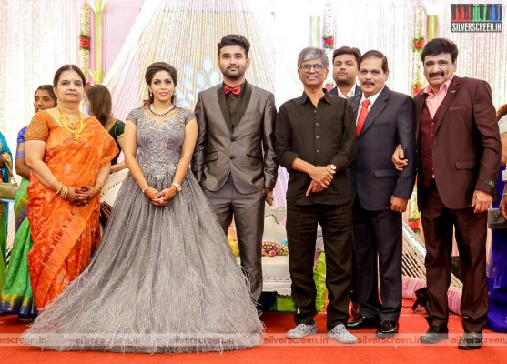 SA Chandrasekhar At The RS Jashwanth Kannan-K Priyanka Wedding Reception