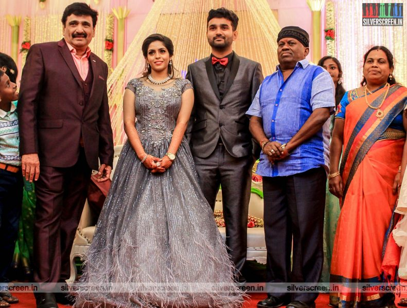 Senthil At The RS Jashwanth Kannan-K Priyanka Wedding Reception