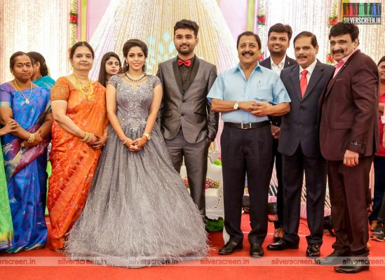 Sivakumar At The RS Jashwanth Kannan-K Priyanka Wedding Reception