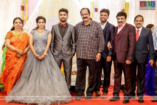 Suresh Krissna At The RS Jashwanth Kannan-K Priyanka Wedding Reception