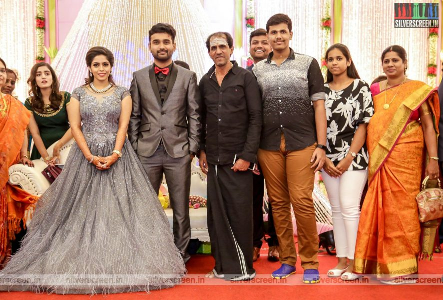 Vaiyapuri At The RS Jashwanth Kannan-K Priyanka Wedding Reception