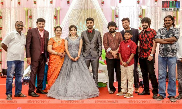 Vikraman At The RS Jashwanth Kannan-K Priyanka Wedding Reception