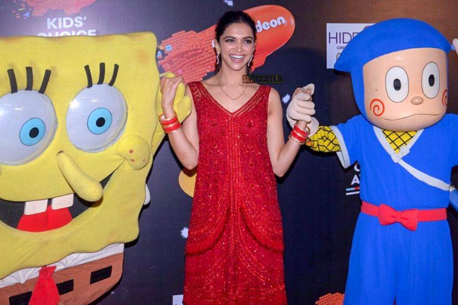 Deepika Padukone At The Nickelodeon Kids Choice Awards 2018