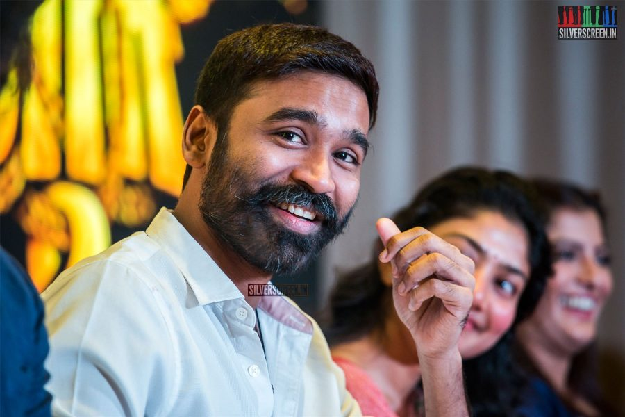 Dhanush At The 'Maari 2' Press Meet