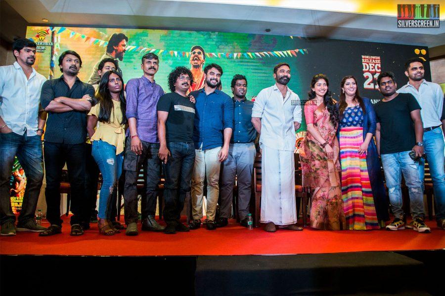 Dhanush, Tovino Thomas, Sai Pallavi At The 'Maari 2' Press Meet