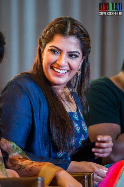 Varalaxmi At The 'Maari 2' Press Meet