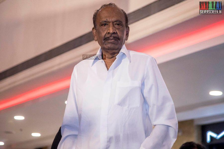 J Mahendran Unveil Seethakaathi Wax Statue