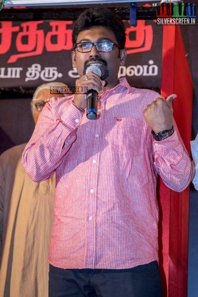 Launch Of Seethakaathi Wax Statue