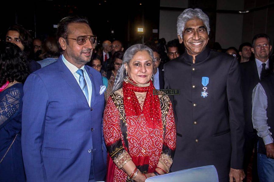Jaya Bachchan, Ashok Amritraj At The Indo French Press Meet