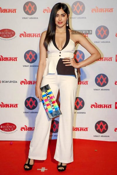 Adah Sharma At The Lokmat Most Stylish Awards 2018