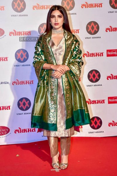 Bhumi Pednekar At The Lokmat Most Stylish Awards 2018