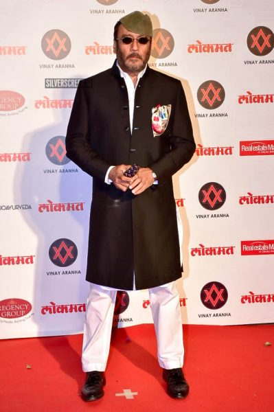 Jackie Shroff At The Lokmat Most Stylish Awards 2018