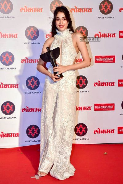 Jhanvi Kapoor At The Lokmat Most Stylish Awards 2018