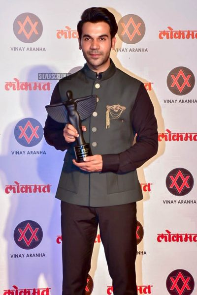 Rajukummar Rao At The Lokmat Most Stylish Awards 2018